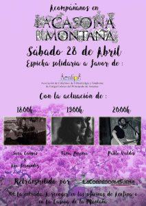 Espicha solidaria Casona de la Montaña, Sábado 28 de Abril
