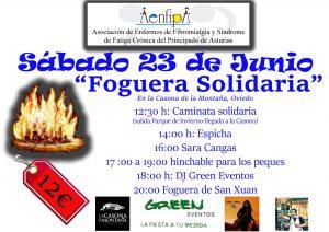 Foguera solidaria 23 de Junio, La Casona de la Montaña Oviedo