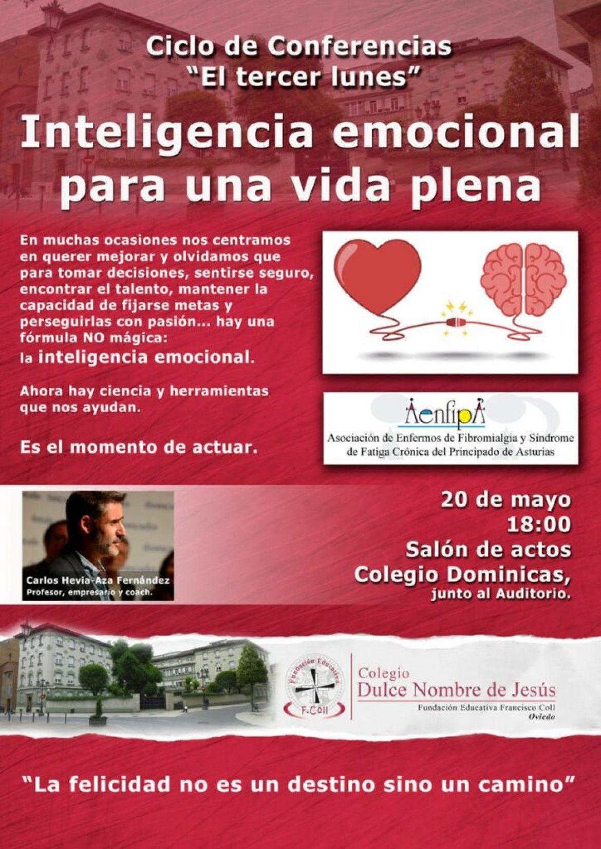 Lunes 20 de mayo : Inteligencia emocional para una vida plena