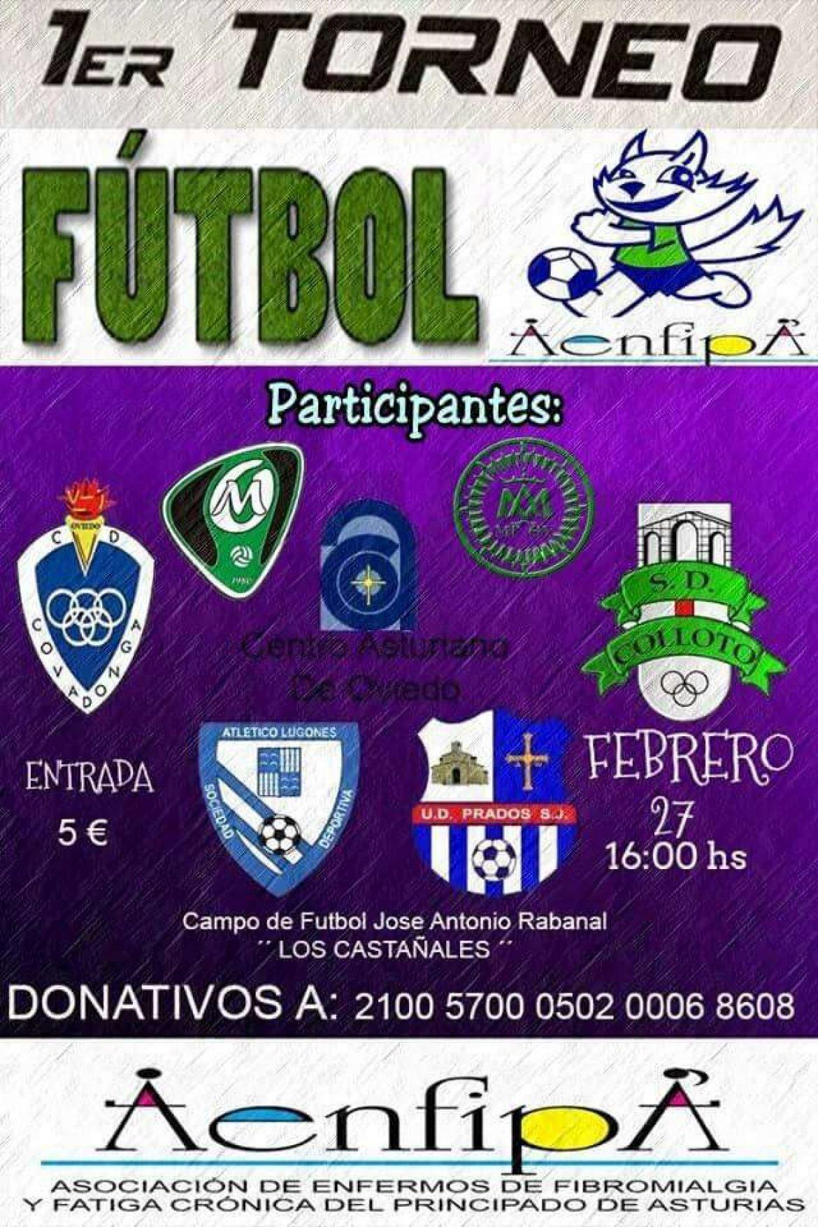 Gran éxito del I Torneo de Fútbol AENFIPA