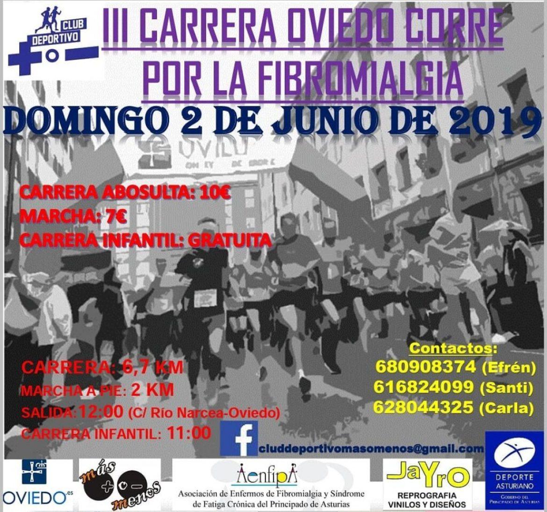 Oviedo corre por la Fibromialgia 2 de Junio