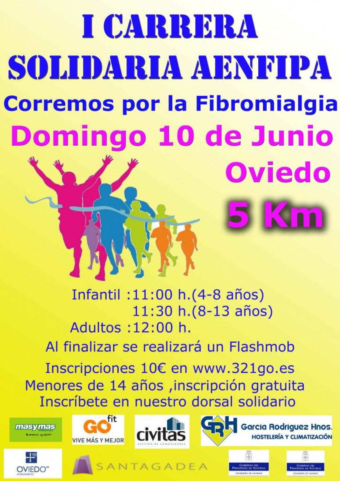 Corremos por la Fibromialgia y SFC