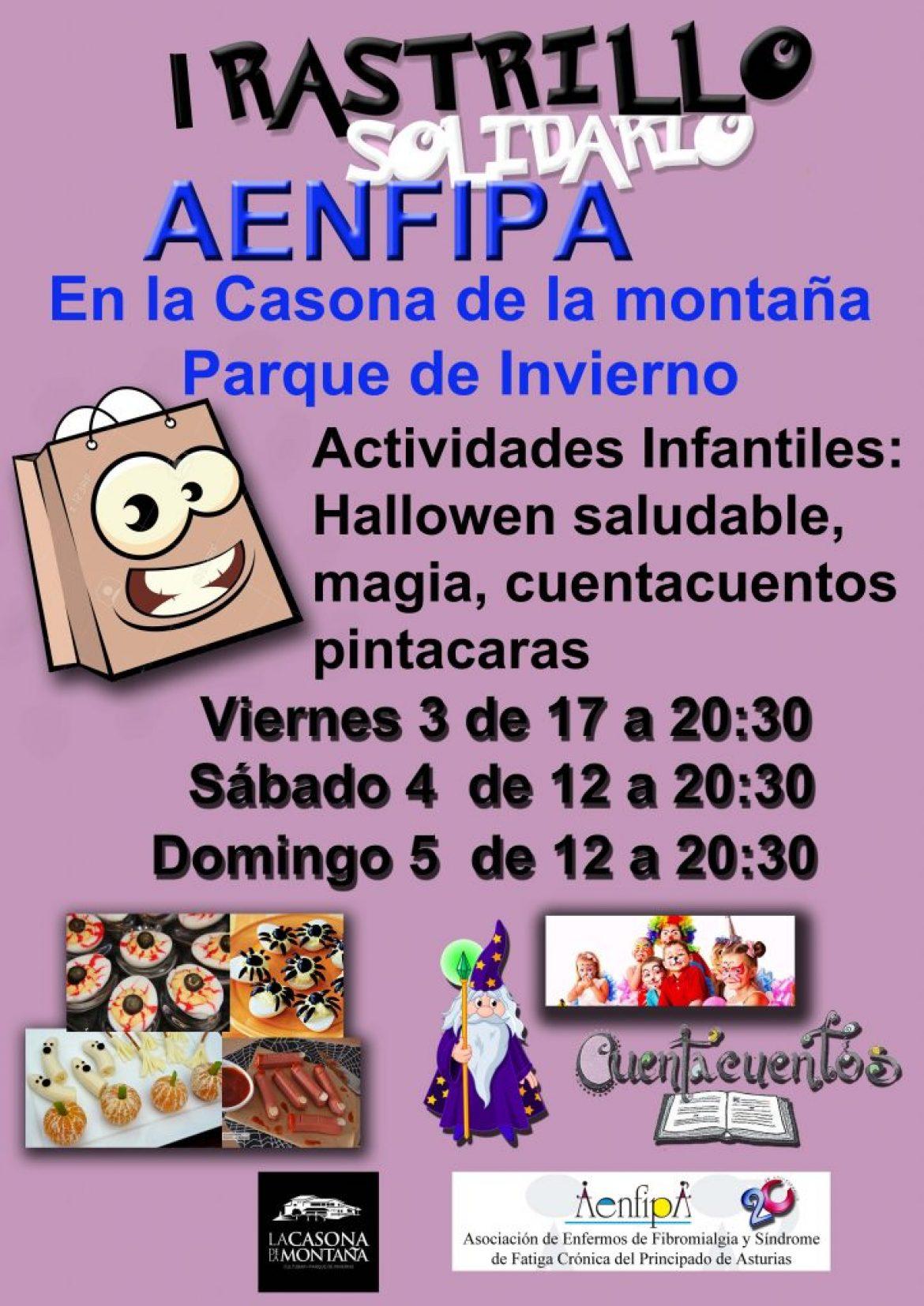 I Rastrillo Solidario Aenfipa 3, 4, 5 de Noviembre