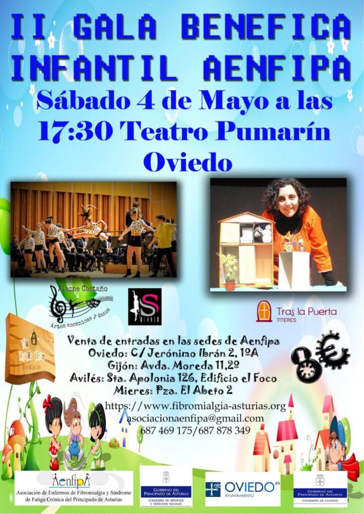 Sábado 4 de Mayo, II Gala Infantil