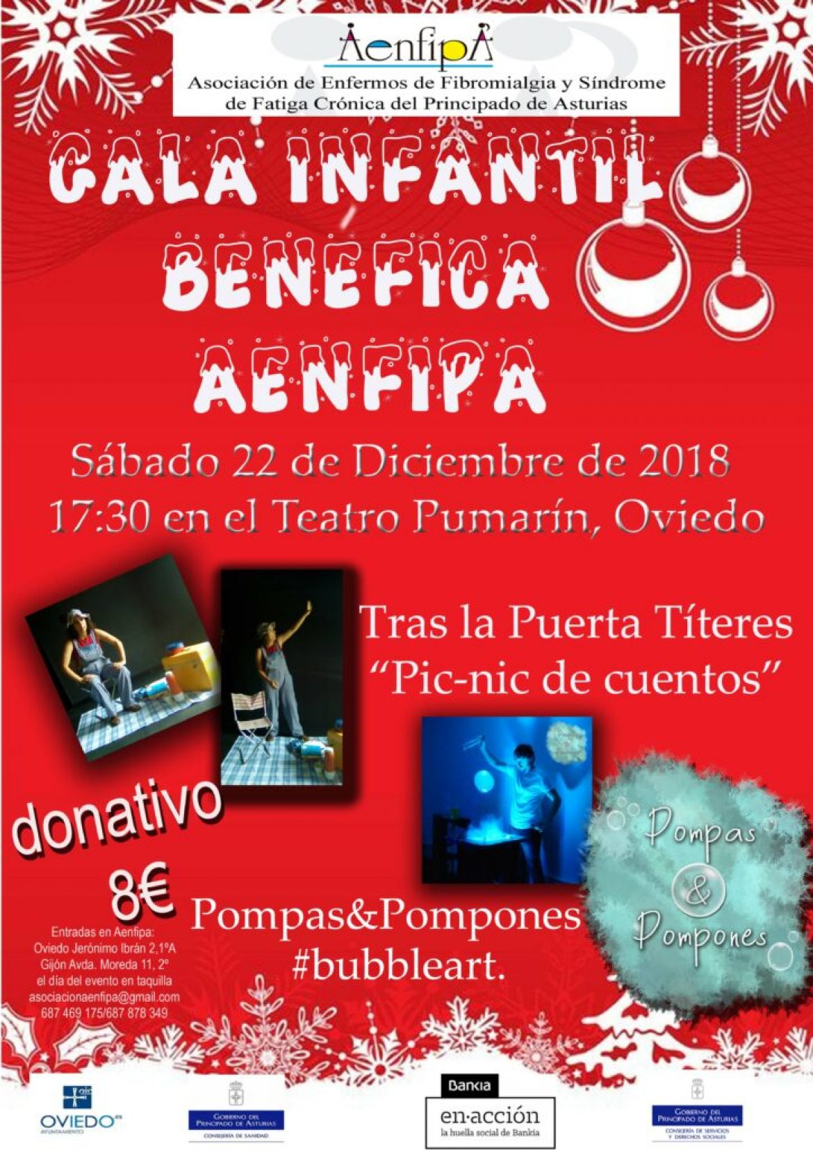 Sábado 22 de Diciembre Gala Infantil
