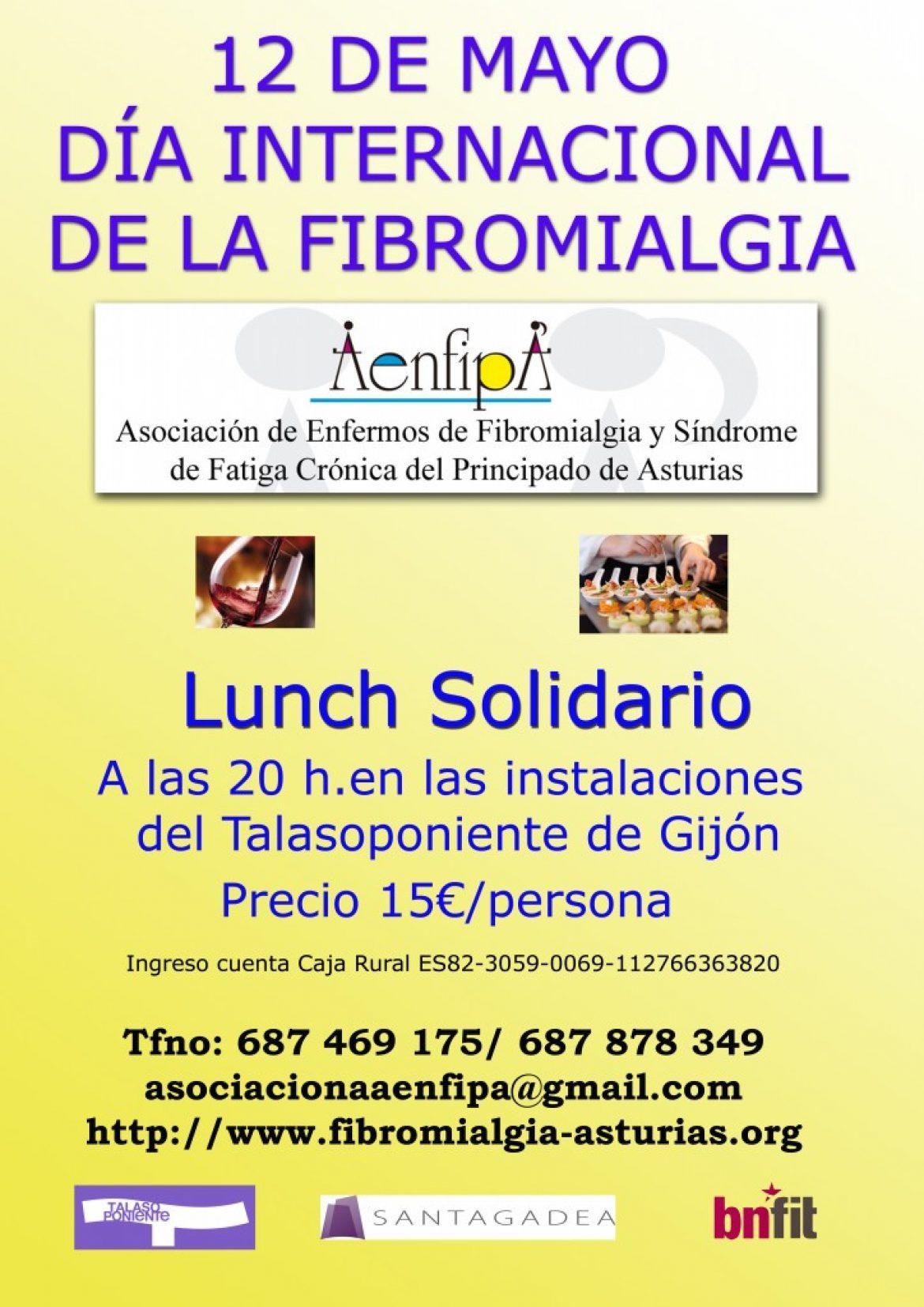 Lunch Solidario , Jueves 12 de Mayo en el Restaurante Paparazzi del Talasoponiente