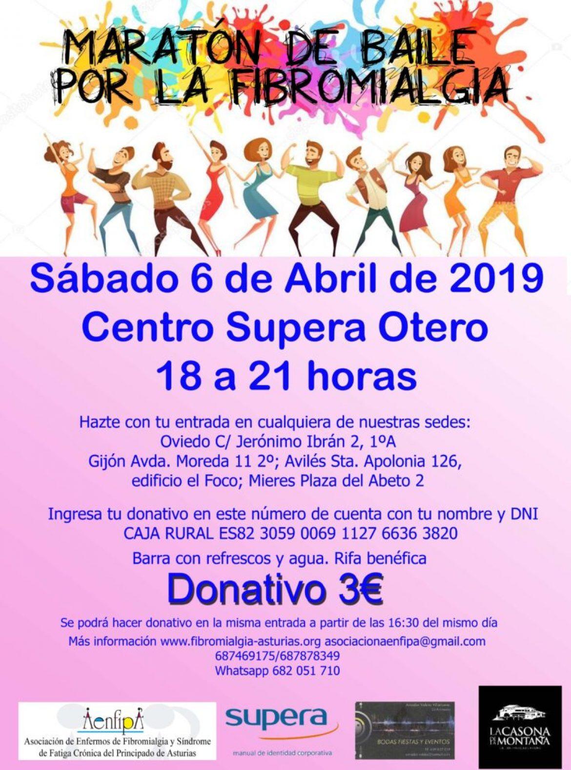 II Maratón de Baile, 6 de Abril Centro Supera de Otero
