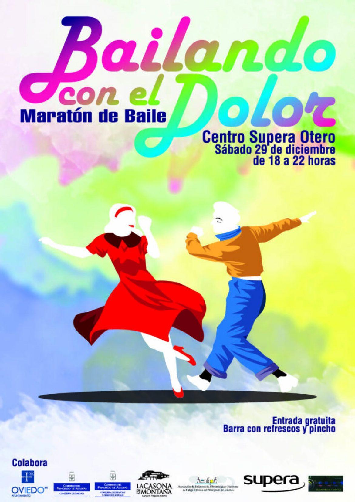 Bailando con el dolor, Sábado 29 de Diciembre Centro Supera Otero
