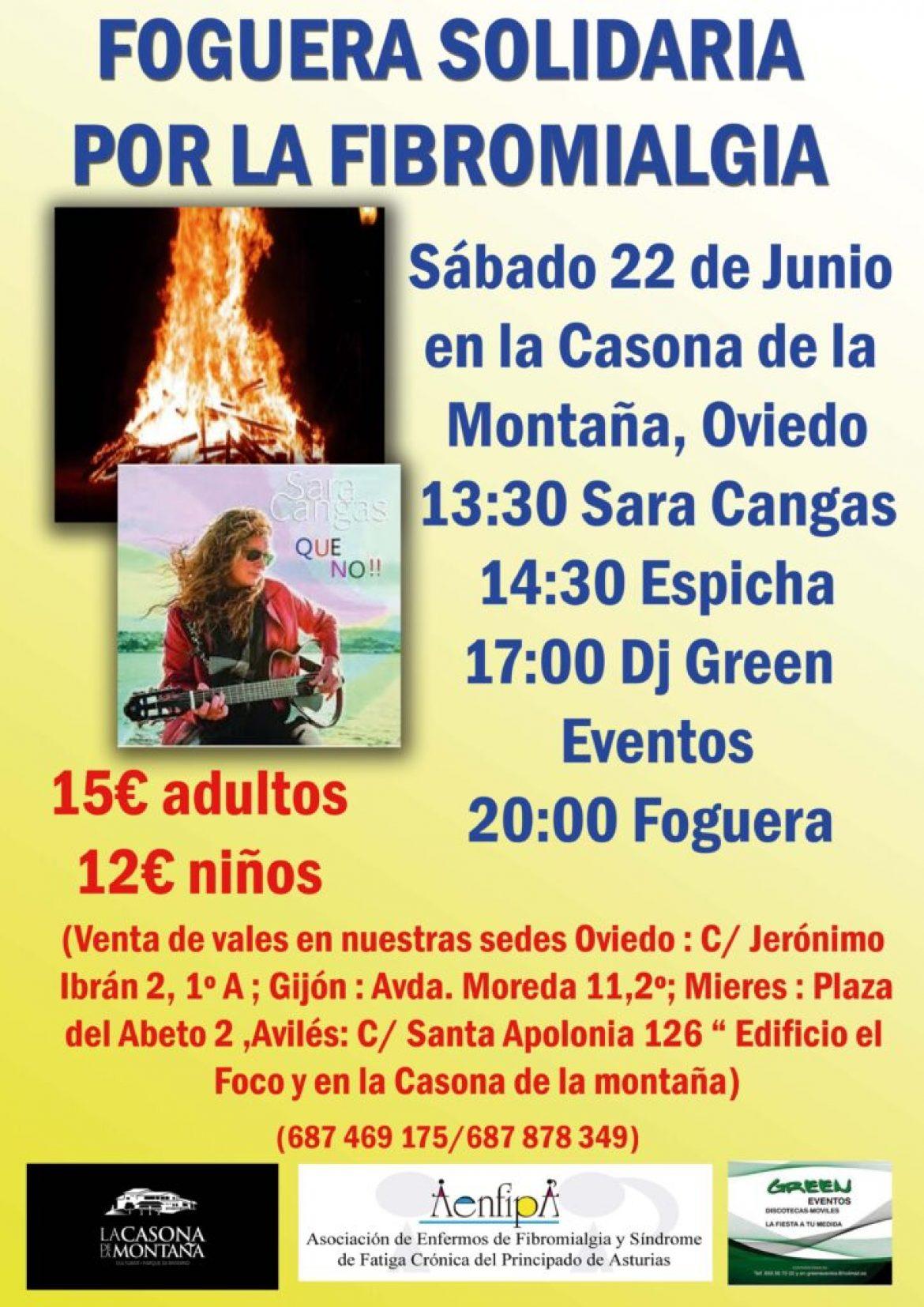 Foguera Solidaria 22 de Junio 2019